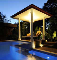 Tuscan Style Homes, Blue Design, Amazing Gardens, Tuscany, Gazebo, Garden Design, Outdoor Structures, Mansions, House Styles