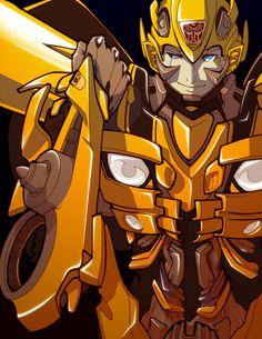 +Bumblebee+ by dou-hong.deviantart.com on @deviantART