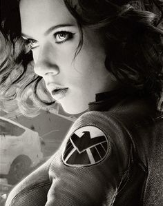 Black Widow. She's Hot. And I can say that because she really is. Like, dang girl.