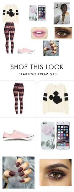 """Unconditionally - Cap. 6"" by thaliasalvatore ❤ liked on Polyvore featuring Uniqlo, Converse and Fiebiger"