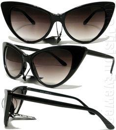 extreme cat-eye sunglasses