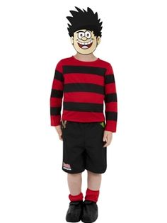 One of the most iconic kids in comic book history finally has a fancy dress costume that does him justice. Transform your little mischievous one into the famous Beano character in this child's Dennis The Menace Costume. Book Character Day, Book Character Costumes, Book Characters, Clever Costumes, Boy Costumes, Halloween Costumes, Children Costumes, Halloween Diy, Costume Ideas
