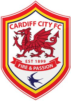 Cardiff City Football Club | Country: Wales, United Kingdom. País: Gales, Reino Unido. | Founded/Fundado: 1899 | Badge/Escudo