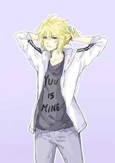Mika with a ponytail is my weakness<<Mika-chan with a ponytail reminds me of Len Kagamine