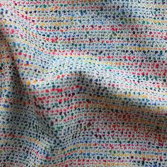Medium weight. 140cm wide. 55% Cotton 45% Viscose.Sold per half metre. To purchase 1 metre, enter 2 in the quantity box at checkout.