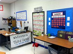 This blog has some fabulous ideas for classroom organization, centers/stations, and posters. Most of it is geared for elementary but I think I could modify some ideas for middle school. Tupelo Honey: My Classroom