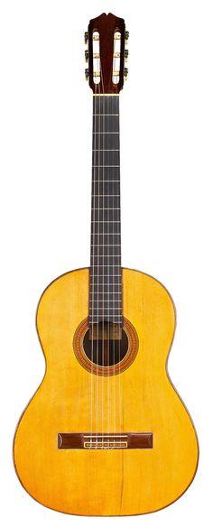 Classical Guitars - 1934 Santos Hernandez SP/CSAR - Guitar Salon International