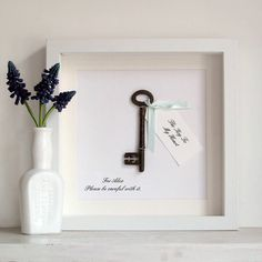 the key to my heart artwork by velvet ribbon | notonthehighstreet.com