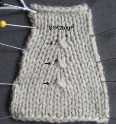 S1K2P or S1K2togP by Arenda Holladay.  In this version the center stitch is UNDER the stitches to the left and right.  You rarely see this decrease anywhere other than lace.