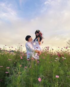 Couple pics flower theme What picture is your fav? 1 2 3 or 4 ? Couple Ulzzang, Ulzzang Girl, Korean Couple, Best Couple, Couple Goals Cuddling, Joelle, Korean Wedding, Couple Aesthetic, Couple Outfits