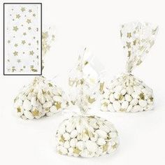 "12 ~ Gold Star Cellophane Goody Bags ~ Approx. 5 1/2"" X 3 1/4"" X 11"" ~ New FX http://www.amazon.com/dp/B007BD8ALA/ref=cm_sw_r_pi_dp_K5pkwb17WY6T3"
