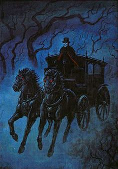 The Chariot by Joseph Vargo (The Gothic Tarot)