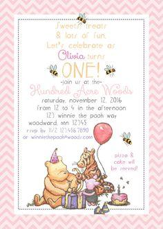 3a1d0825671b91645ce94bf5ed4e2502 baby birthday birthday party ideas classic winnie the pooh invitations set of 10 classic pooh,Vintage Winnie The Pooh Invitations