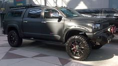 "The Devolro Diablo is a Toyota Tundra that's been given the apocalypse treatment, including a 7-inch lift, ""tank-like armor"" bumpers and 520 hp supercharged V8."