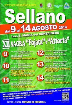 XII Sagra della Fojata e dell apos Attorta a Sellano