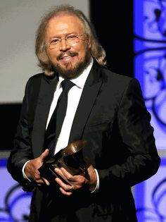 Barry Gibb Speaks From the Heart at Grammy Special Merit Awards