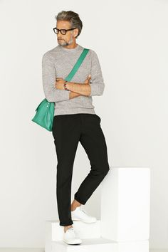 How to Wear Black Chinos looks & outfits) Stylish Mens Fashion, Luxury Fashion, Men's Fashion, Fashion Sale, Classic Fashion, Fashion Outlet, Paris Fashion, Runway Fashion, Casual Outfits