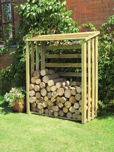 £245.95 If you've got a wood-burning fire, this rustic, robust log store is the perfect way to keep your logs clean and dry until you decide to use them. LINK - http://www.greensquares.co.uk/garden-furniture/rhino-log-store-6-x3-/glog63