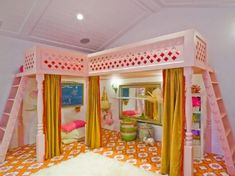 Fun And Fancy Kid's Room Decorating Ideas