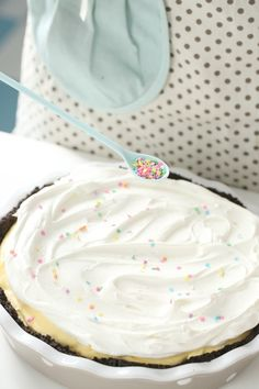 Oreo Lemon Pie #pastel