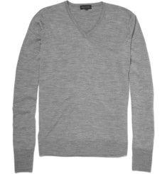 John Smedley Bobby V-Neck Merino Wool Sweater | MR PORTER
