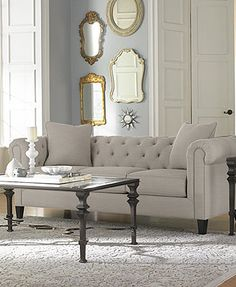 Martha Stewart Collection Saybridge Living Room Furniture Collection ...