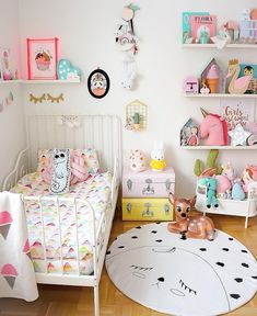 Cozy Toddler Girl Bedroom Colors With Top Quality Photos In See more ideas around Toddler rooms, Bedroom decor and Girls bedroom. Baby Bedroom, Girls Bedroom, Bedroom Decor, Bedroom Ideas, Trendy Bedroom, Bedroom Colors, Eclectic Bedrooms, Room Girls, Childrens Bedroom