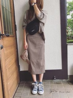 Outfits for Work - Trend Outfits for Work Fashion Ulzzang Fashion, Hijab Fashion, Korean Fashion, Fashion Outfits, Fashion Tips, Fashion Trends, Japanese Outfits, Korean Outfits, Modest Fashion