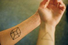 cube tattoo ink