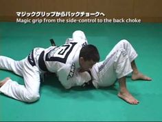 Side control Kimura with Magic grip. Then a transition to the bow and arrow