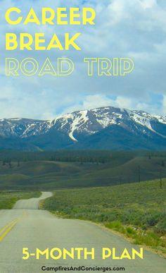 Travel plans, road trip, USA, Colorado, Utah, New Mexico, Arizona
