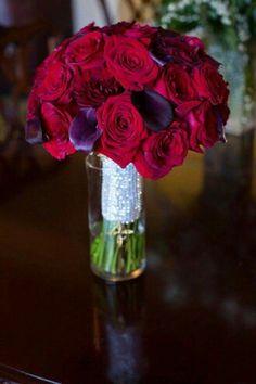 Vase for the Bride's Bouquet