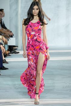 Diane von Furstenberg Spring 2015 Ready-to-Wear - Collection - Gallery - Look 1 - Style.com