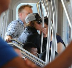 Madonna Wonders If a Locomotive Jaunt Is Not So Different Than a Safari, With All There Is to See