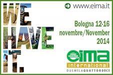 Syncro System esporrà a EIMA a Bolgna dal 12 al 16 novembre 2016