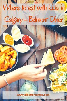 Looking for a place to eat with kids in Calgary you're going to want to put Belmont Diner on your list of places to go. Located in Marda Loop Belmont Diner offers all-day breakfast, pancake art, as well as a lunch menu. Best Fast Food, Pancake Art, Lunch Menu, Places To Eat, Calgary, Canada, Community, Explore, Breakfast
