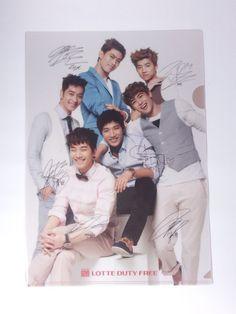 2PM 2 PM KPOP Clear File Folder K POP K-POP ( Lotte Duty Free )