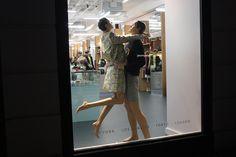 Opening Ceremony windows at Covent Garden, London visual merchandising