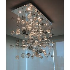 Artisan Crafted Lighting Bubbles Blown Glass Chandelier - All For Decoration Blown Glass Chandelier, Bubble Chandelier, Modern Chandelier, Chandelier Lighting, Chandeliers, Room Lights, Hanging Lights, Ceiling Lights, Light Design
