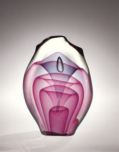 Emergence Four-Stage, Dominick Labino, Grand Rapids, OH, United States, 1975. Purchased with the aid of funds from the National Endowment for the Arts. 76.4.21. #corningmuseumofglass #cmog #glass #contemporary #contemporaryglass #studioglass