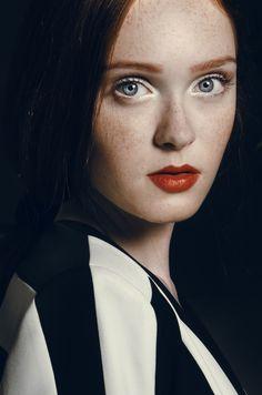 Lithuanian model Viktorija Vilkelyte. Mother agency: RUTA model management, www.rutamodel.com / NEXT management
