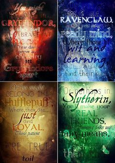 Hogwarts Houses: Gryffindor, Slytherin, Ravenclaw, Hufflepuff, Printable poster ➤ PLEASE NOTE ----------------------------- This listing is f Harry Potter World, Harry Potter Ron Weasley, Harry Potter Decor, Harry James Potter, Harry Potter Quotes, Harry Potter Universal, Harry Potter Fandom, Scorpius And Rose, Imprimibles Harry Potter
