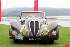 1937 Delahaye 135 MS Figoni and Falaschi Special Roadster