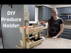 DIY Veggie/Fruit Stroage Rack - Wilker Do's