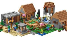 The biggest Lego 'Minecraft' set yet is coming in June http://ift.tt/1ScuKbQ  Lego has explored various corners of theMinecraft universe in sets based on the Nether The End and more. But the biggest set of them all  coming in June  focuses on a decidedly more mundane location: The Village.  Minecrafts social centers are the subject of a June 1 Lego release and its not small. For $199.99 you get 1600 pieces spanning three different biomes (rainforest snow and desert) and key structures…