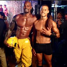 The Black version of Magic Mike....Chocolate City ahahaha I didn't see Magic Mike, and I won't be seeing this!