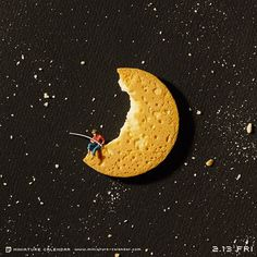 Dreamworks? by Tatsuya Tanaka #Art #inked #artist #cookie #halfmoon #dreamworks