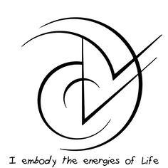 """Sigil Athenaeum — """"I embody the energies of Life"""" sigil """"I embody..."""