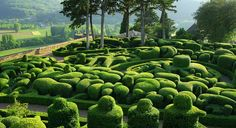 Gardens of Marqueyssac, Perigord