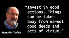 Nassim Taleb - Acts of Virtue